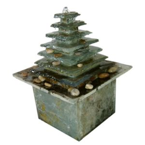 Stone Tabletop Fountain with 1.2W LED Finger Light pictures & photos