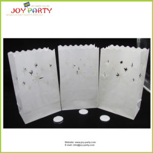 Fire-Retardant Star Style Paper Candle Bags