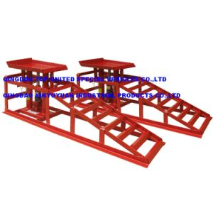 Height Adjustable Double Safety Assured Vehicle Car Ramps Cr01