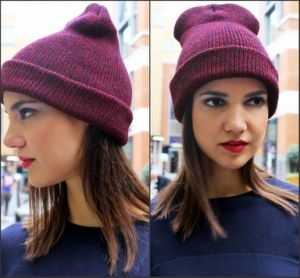 Female Beanie Hat Fitted (XT-B044) pictures & photos