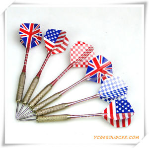 Steel Needle Tip Dart Darts with National Flag for Promotion pictures & photos