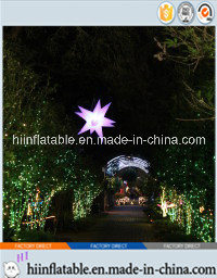 2015 Hot Selling Decorative LED Lighting Inflatable Star 0069 for Event, Celebration