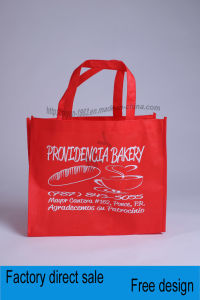 Non-Woven Multicolour Sewing, Printing Monochrome Advertising Handbag