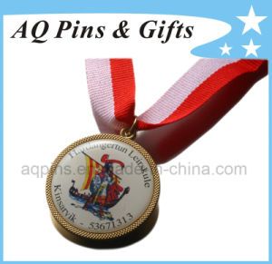 Gold Medal with Digital Printing & Epoxy pictures & photos