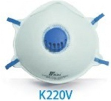Blue Color Dust Respirators with Valve Ce Certificated