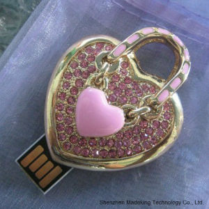 Jewelry USB Flash Drive with Heart Shape pictures & photos