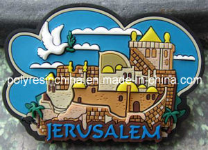 Jerusalem PVC Souvenir Fridge Magnet pictures & photos