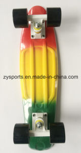 Two Colors Painted Penny Skateboard