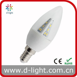 C35 E14 LED Bulb 190lm 2.5W Plastic India Price CE