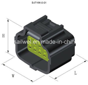 10ways PBT Waterproof Auto Connector for 2.0 Wire Harness