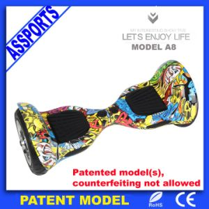 Hover Board 2 Wheel Self Balancing Electric Scooter with LED Lights pictures & photos