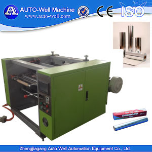 Automatic Aluminum Foil Roll Rewiner and Cutter pictures & photos