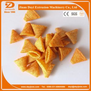 Fried Wheat Flour Puff Snack Process Line Food Extruder Machine with Packing Machine pictures & photos