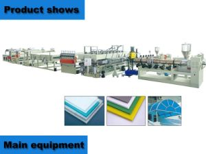 China PP Hollow Grid Sheet Production Line pictures & photos