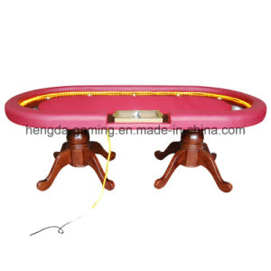 Gun Barrel Foot Texas Poker Table