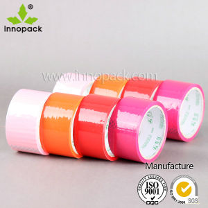 BOPP Self Adhesive Colored Tape/Adhesive Tape Suppliers pictures & photos