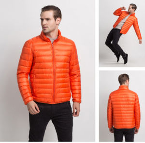 OEM New Design High Grade Windproof Plain Men′s Light Jacket with Zipper