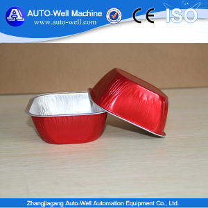 Disposable Smooth Wall Jelly Aluminium Foil Container pictures & photos
