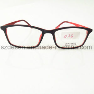 New Fashion Popular Design Tr90 Optical Frame Wtih Metal Temple pictures & photos