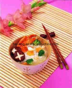 Korean Style of Disposable Tablewares Twins Bamboo Chopsticks pictures & photos