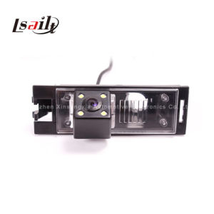 Special Reversing Car Camera with 4 LED Light/Night Vision pictures & photos
