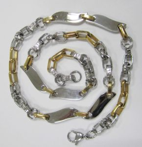 Fashion Cheap Stainless Steel Jewelry, Gold Plating Stainless Steel Chain pictures & photos