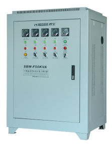 SBW-F Series Three-Phase Split-Phase Regulating Full-Automatic Compensated Voltage Stabilizer 50k pictures & photos