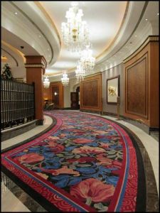 Customed-High-Quality-Environment-Friendly-Hotel-Carpet Axminster Carpet Wool Carpet Wall to Wall Carpet Tufted Carpet Floor Covering