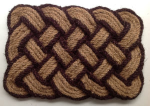 Indoor Outdoor Coconut Coir Coco Fiber Natural Woven Rope Doormats Rugs Carpets Floor Door Mats
