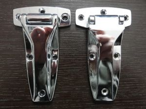 Zinc Die Casting Hinge with Chrome Plating Finish pictures & photos
