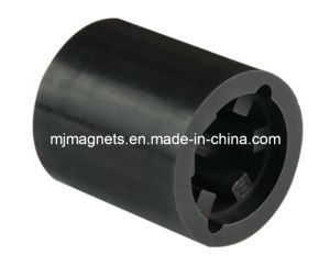 Plastic Injection Bonded Ferrite Magnet in Customized Shape