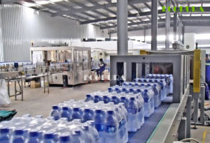 Bottled Water Filling Line / 3-in-1 Monobloc Filling Machine 12, 000bph pictures & photos