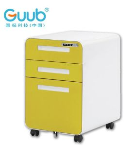 High Quality Movable File Cabinet 3 Drawer Mobile Pedestal Cabinets