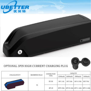 Lithium Ion Electric Bike Battery E Bike Battery Pack pictures & photos