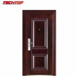 China Tps 010 2017 Entrance Doors Exterior Safety Door Flat Design