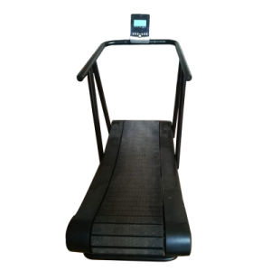 Self-Powered 1500mmx430mm Running Area Commercial Curved Treadmill