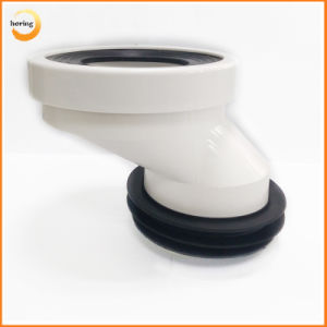 China PP Offset Wtith EPDM Seal Ring Closet Toilet Flange 3