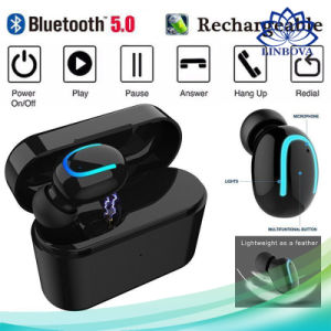 New Version Bluetooth 5.0 Handsfree Headphone Tws Wireless Earphone