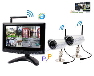 Digital 2.4GHz Wireless Camera DVR Kit, Digital Wireless DVR Kit with 2 Camera pictures & photos
