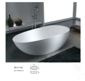 Artificial Stone Bathtub (WB-B-S05)