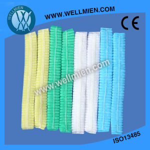 Non-Woven Bouffant Cap/Mob Cap/Disposable Surgical Clip Caps Colorful