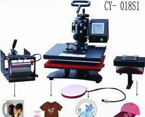 CE-Passed Multi-Functional 8 in 1 Sublimation Machine for Printing T-Shirt, Hat, Mug and Plate pictures & photos