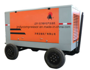 Diesel Driven Mobile Air Compressor