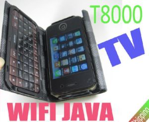 Java TV WiFi Cell Phone Qwerty Keyboard (T8000)
