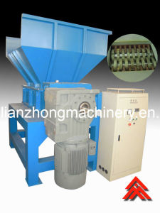 Tire/Solid Plastic Waste/Double Shaft Shredder