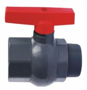 PVC Internal and External Thread Ball Valve pictures & photos