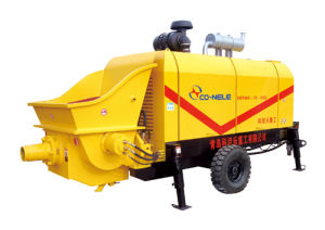 Volov Engine Diesel Concrete Pump