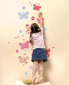 Removable Durable PVC Wall Sticker & Decal (WS-01)
