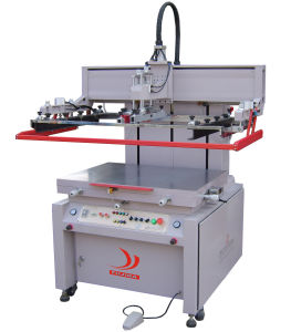 Vertical Semiautomatic Screen Printing Machine of High Precision