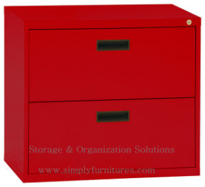 Two Darwers Lateral Filing Cabinet (SI6-LCF2GB) pictures & photos